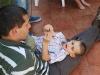 עידו ואבא יורם - אפריל 2008